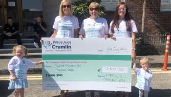 Maisie's Marathon fundraiser in Longford raises €12,600 for Crumlin Children's Hospital