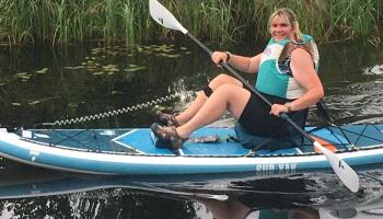 Brave Longford musician to paddle Lough Ree to help finance Christmas in June concert for Brain Tumour Ireland