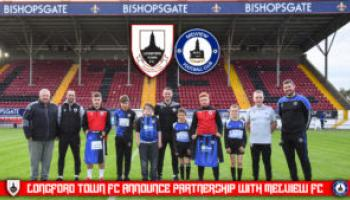 Longford Town FC announces partnership with Melview FC