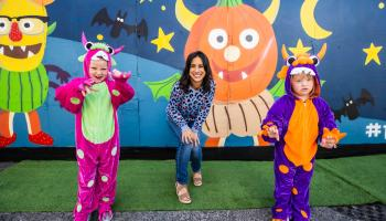 You could trick or treat and help sick children this Halloween
