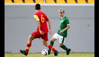 Proud day for Ballyboro FC as Christian makes international debut in impressive victory over Montenegro