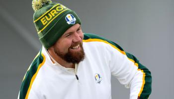 PICTURES: Shane Lowry all smiles with Team Europe ahead of Ryder Cup