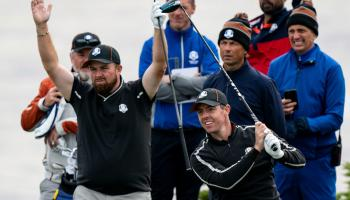 Lowry left out of first day foursome matches at the Ryder Cup