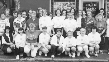 Down Memory Lane   Longford's marathon women run for Chernobyl in 1999 and Declan Nerney guest at St Christopher's Sports Day