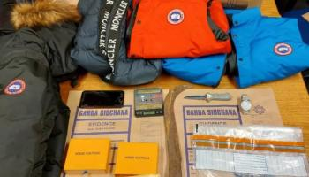 Drugs and branded clothing seized in Cavan