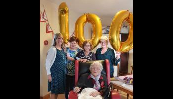 Lovely celebration as Longford lady marks 100th birthday milestone