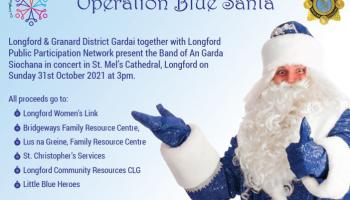 Operation Blue Santa kicks off with Garda Band in Longford's St Mel's Cathedral