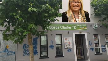 Longford-Westmeath TD left angered by vulgar graffiti attack