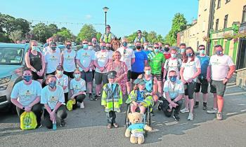 PICTURES | Longford Gardaí help to raise €16,000 for Little Blue Heroes with El Camino Del Garda