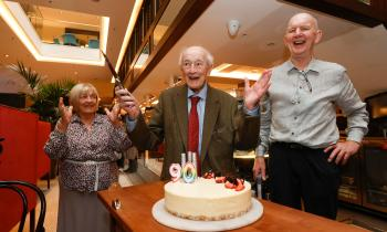 WATCH: 90-year-old man gets surprise from Bewleys after 59 years as customer