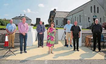 Longford Leader gallery: Dedication of O'Higgins statue in Drumlish