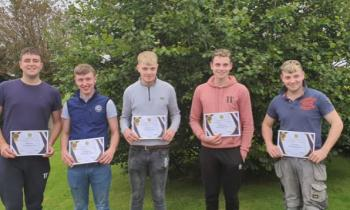 PICTURES | Granard teens praised in annual Garda Youth Awards