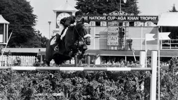 Longford's Top 10 Memorable Sporting Moments  - Eddie Macken and  Boomerang  a trailblazing  combination