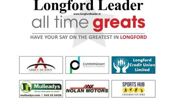 VOTING closes tonight in our Longford's All Time Greats quarter-final polls