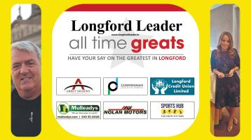 REVEALED | We have our two finalists in the search for Longford's All Time Great