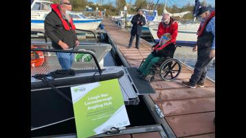 Lough Ree Access for All project among finalists for National Lottery Good Causes Awards taking place virtually this Saturday