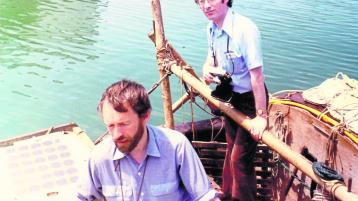 Longford's connection with the late Tim Severin's Brendan boat voyage
