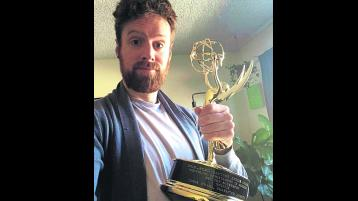 Longford animator receives his Emmy award
