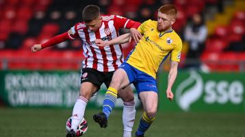 Derry City mightily relieved as Akintunde stoppage time equaliser denies Longford Town victory