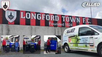 Longford Town FC announce partnership with Allied Recycling.ie