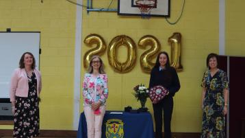 Longford Leader gallery: Leaving Cert and Transition Year end of year awards at Cnoc Mhuire, Granard