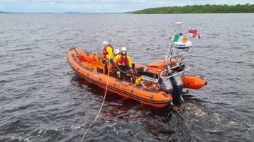 Lough Ree RNLI rescue seven people on board stranded boats over holiday weekend