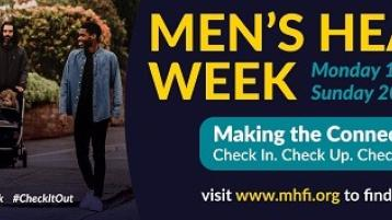 Longford men challenged to 'check-in, check-up, check it out' during Men's Health Week 2021