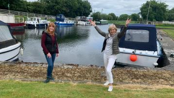 GALLERY | RTÉ's Nationwide goes all along the banks of Royal Canal from Clondra in Longford to Dublin's Spencer Dock