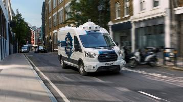 Driverless vans could soon be delivering your parcels