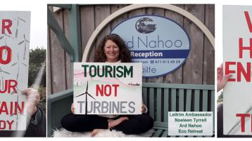 Anger as planning permission granted for win turbines in Leitrim