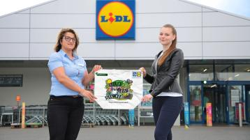 Lidl Longford customer bags top prize in sustainability colouring competition