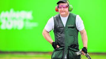 Longford's Derek Burnett fails to book men's Trap shoot final