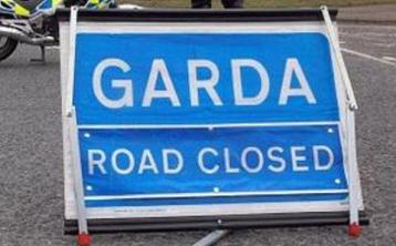 Gardai at scene of collision on N55 Edgeworthstown to Ballymahon Road in Longford