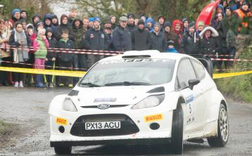 Moffett mops up in opening round of the Triton Showers National Rally Championship