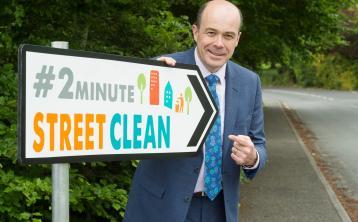 Minister Denis Naughten praises Longford National Spring Clean volunteers