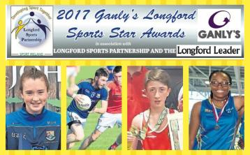 Ganly's Longford Sports Star of the Month