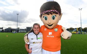 A dream come true for Longford girl Jodie Robinson as she joins Republic of Ireland Women's Team for training