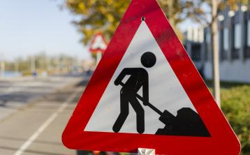 Roadworks on the R198 Longford to Arva Road