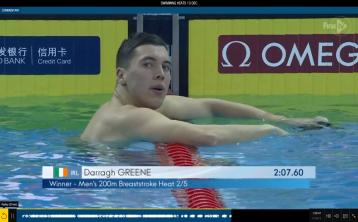 Longford swimmer Darragh Greene achieves another personal best at World  Championships in China