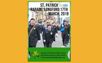 Longford St Patrick's Day parade will go ahead as is tradition on March 17