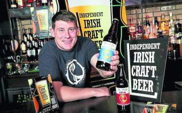 Liam Hanlon of St Mel's Brewery