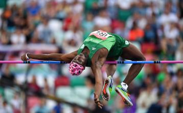 Longford high jumper Nelvin Appiah impresses once again on the European stage in Minsk