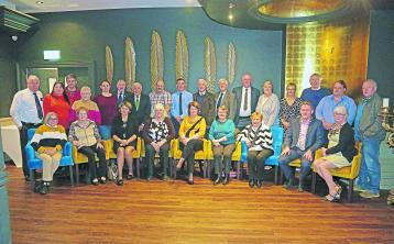 Delegates from across Leinster who attended the provincial Community Games annual general meeting in the Longford Arms Hotel Pictures: Shelley Corcoran