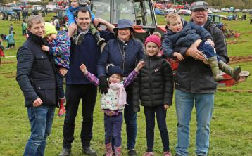 Shane and Luke Kiernan, Trevor and Shea Smith, Ava Lynch,Marian, Cliodhna and Silvester Kiernan, Eoghan Lynch Photo by Shelley Corcoran