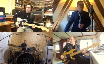 WATCH | State Lights perform 'Peace Will Come' from four separate homes