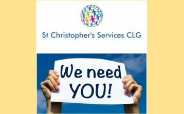 St Christopher's Services, Longford looking for staff and volunteers who are committed to supporting people with intellectual disabilities