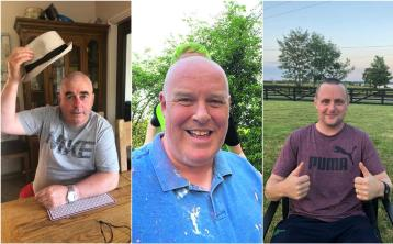 Six men in charity head shave for accessible boat in Lanesboro