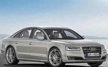 Active suspension for Audi A8