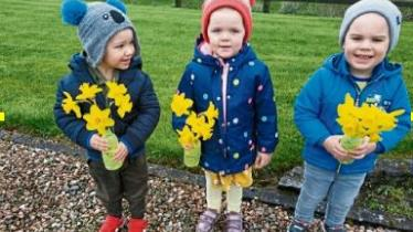 Longford Leader gallery: ABC Childcare raises €2,264 for Daffodil Day