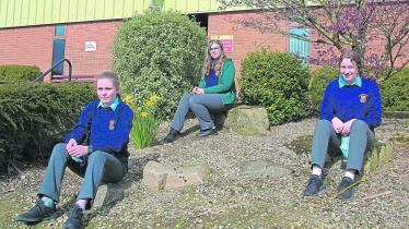 PICTURES | Laughter and chatter returns in full force to corridors of Longford schools